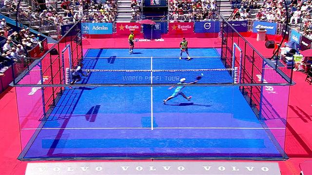 El jugadón de la final masculina en el Valladolid Open