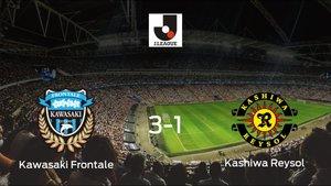 El Kawasaki Frontale vence 3-1 al Kashiwa Reysol y se lleva los tres puntos