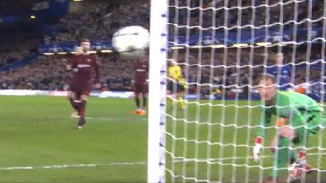 LACHAMPIONS | Chelsea - FC Barcelona (1-1): El primer palo de Willian