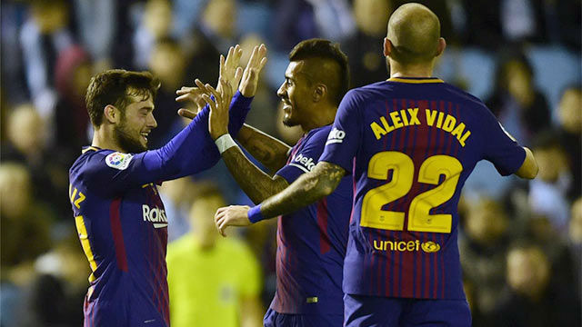 LACOPA | Celta de Vigo - FC Barcelona (1-1): El gol de Arnaiz