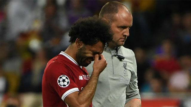 Las lágrimas de Salah tras lesionarse y ser sustituido