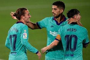 Las mejores imágenes del Villarreal, 1- Barça, 4