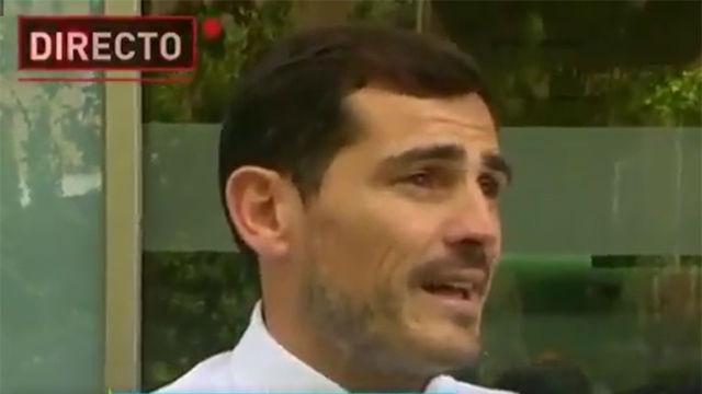 Las primeras palabras de Casillas tras recibir el alta