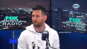 Leo Messi concedió una extensa entrevista