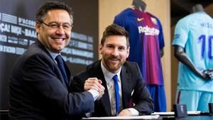 Leo Messi mostró su amor eterno por el Barcelona