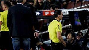 Los árbitros también se adaptarán a los partidos a puerta cerrada