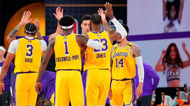 Los Lakers se llevan el primer partido de las Finales