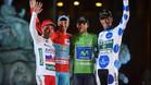 Los líderes de La Vuelta 2015