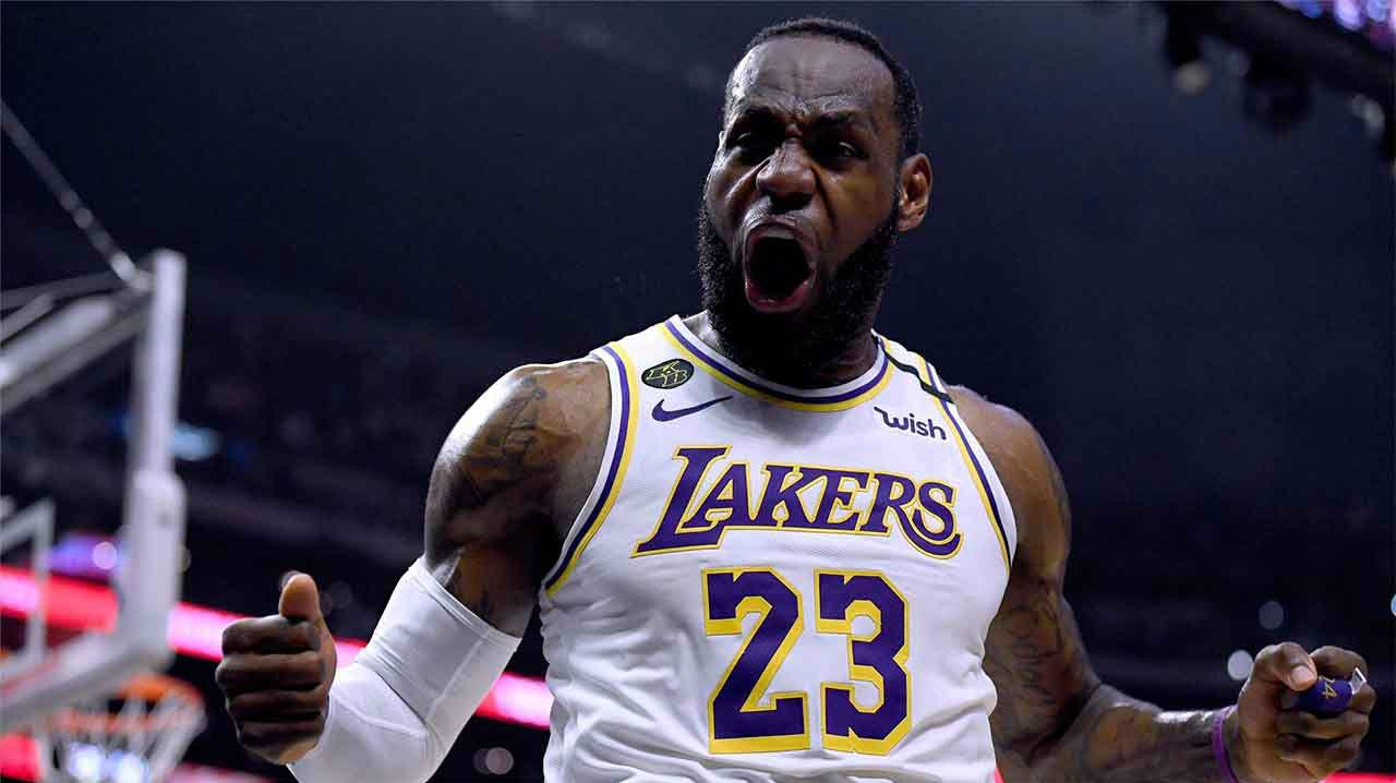 Los mejores mates de LeBron con los Lakers - Parte 2