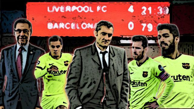 Los 11 motivos del fracaso del Barça en la Champions