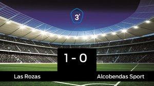 Los tres puntos se quedaron en casa: Las Rozas 1-0 Alcobendas Sport