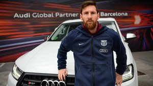 Messi conducirá un SQ7