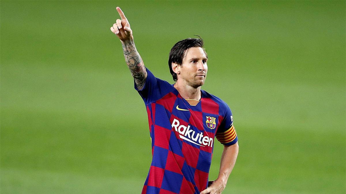 Messi no entiende de parones: Su brillante jugada supuso un penalti a favor y el segundo gol del Barça