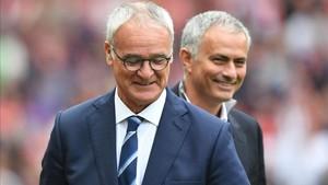 Mourinho mandó un mensaje de apoyo a Ranieri