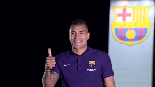 FC Barcelona have signed Valencia defender Jeison Murillo
