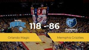 Orlando Magic gana a Memphis Grizzlies (118-86)
