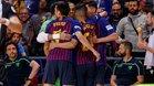 El Palau vibró con el Barça Lassa