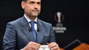 Palop saca el nombre del Sevilla en el sorteo