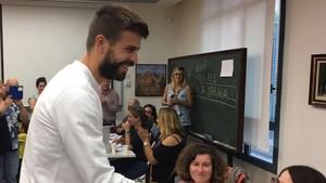 Piqué, un firme partidario al derecho a decidir de los catalanes