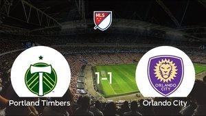 El Portland Timbers y el Orlando City empatan a 1 en el Providence Park