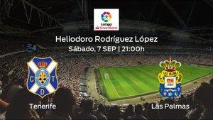 Previa del partido: el Tenerife recibe en su feudo al Las Palmas