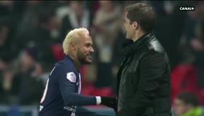 Lo que no se vio en España: así fue el abrazo entre Neymar y Robert