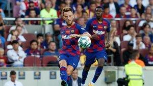 Rakitic y Dembélé siguen en el Barça