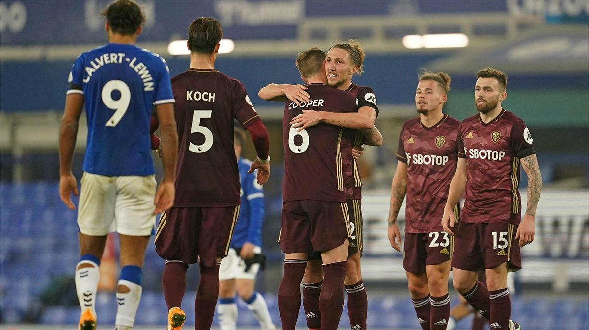 El resumen del partido entre Everton y el Leeds