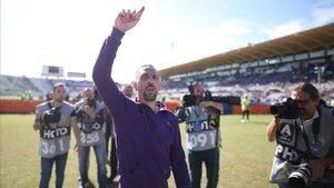 Ribéry es feliz en la Fiorentina