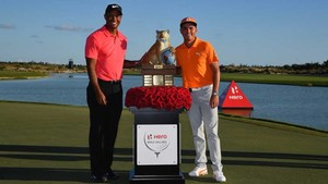 Tiger Woods - Rickie Fowler