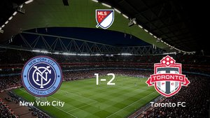 El Toronto FC sigue en los playoff de la Major League Soccer tras imponerse al New York City en las semifinales (1-2)