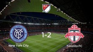 El Toronto FC sigue en los playoff de la Major League Soccer tras imponerse al New York City en las semifinales (1-2)