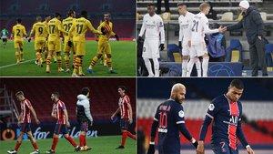 La última jornada de la fase de grupos de la Champions promete
