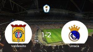 El Urraca CF se lleva tres puntos a casa tras ganar 1-2 al Valdesoto