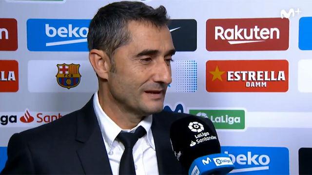 Valverde: El gol de Luis Suárez ha sido extraordinario