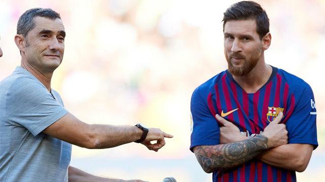 Valverde y las maravillas de Messi
