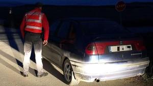 El vehículo pudo ser inmovilizado tras saltarse el control