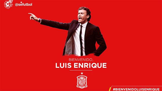 Luis Enrique, nuevo seleccionador de España 1531137386531
