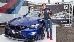 Marc Márquez consigue su sexto BMW M consecutivo. 2018