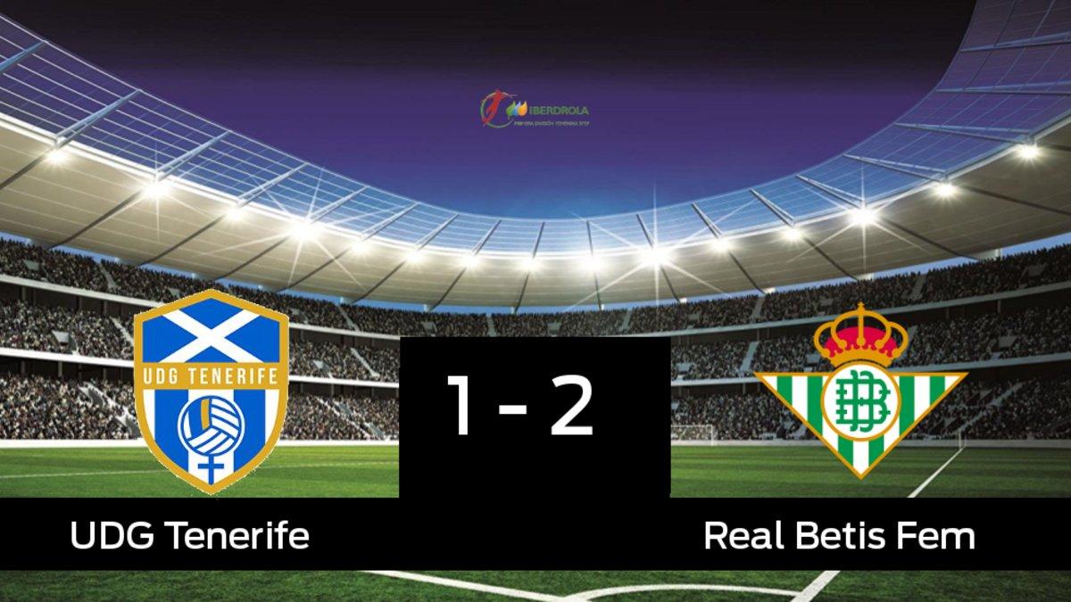El Betis Féminas ganó en el estadio del Granadilla Tenerife Egatesa