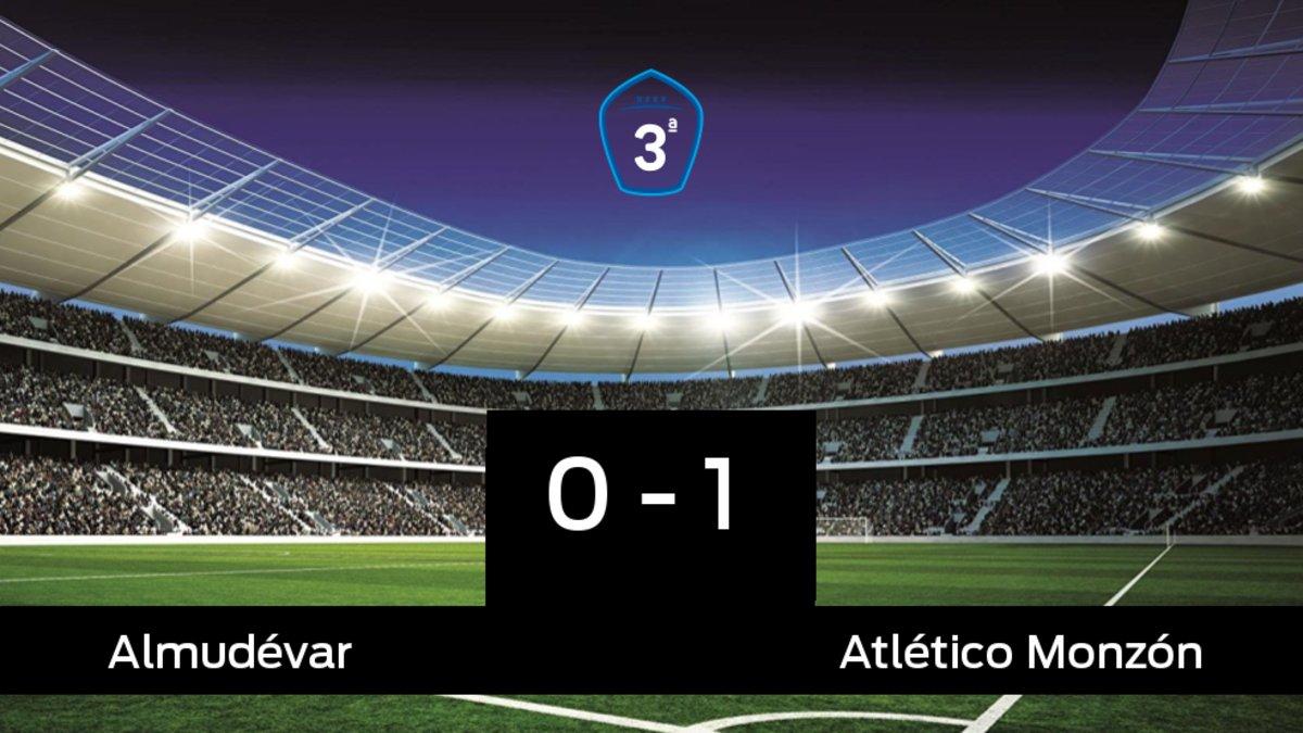 El Atlético Monzón venció en el estadio del Almudévar