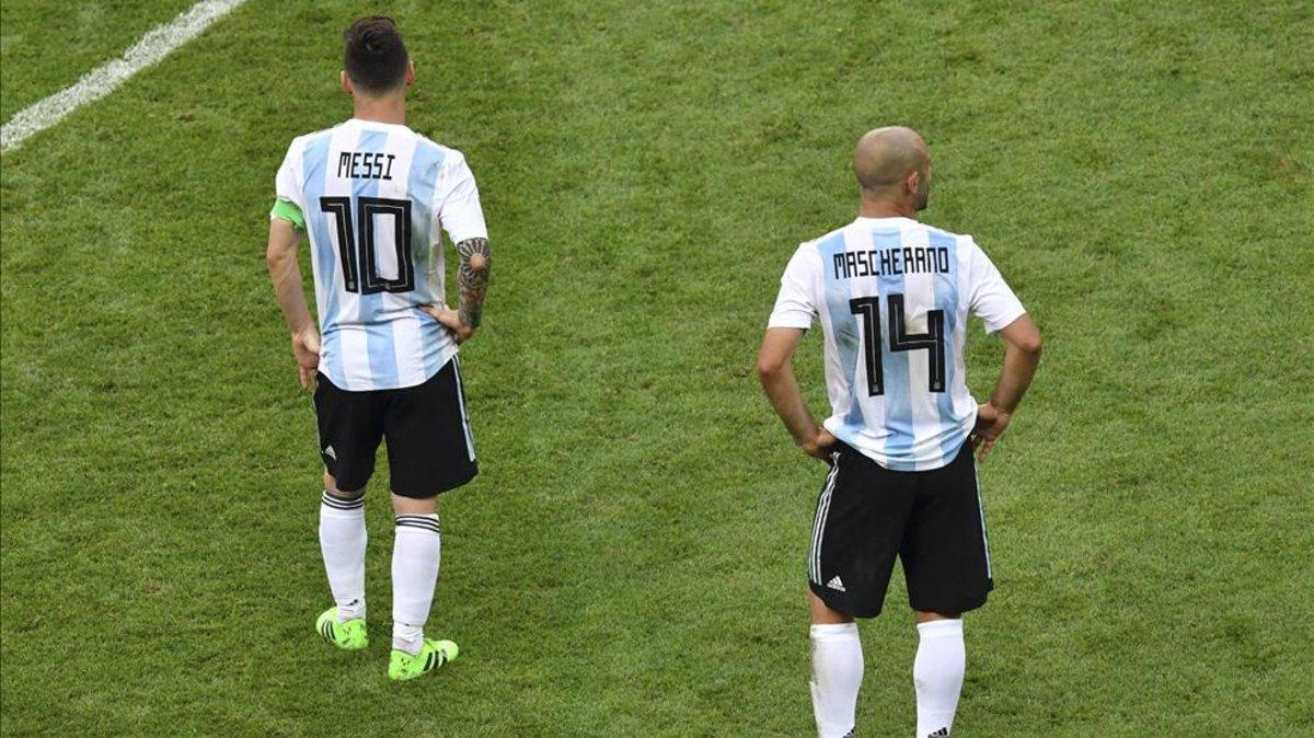 3c565e530 Mascherano se alegra del regreso de Messi a la selección