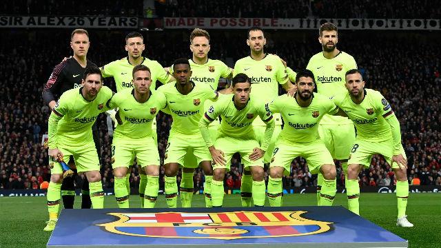 2b08db006ea Barca player ratings  Gerard Pique shines on return to Man United