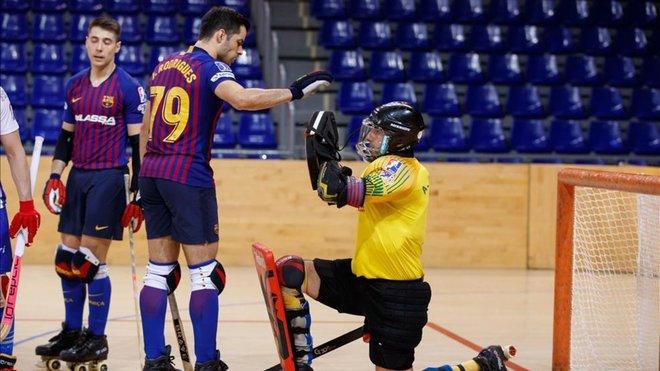 El Barça pierde en la OK Liga casi dos años después