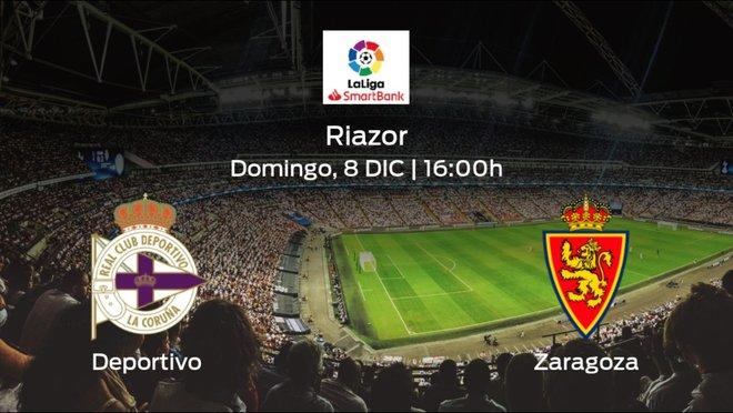 Jornada 19 de la Segunda División: previa del duelo Deportivo - Real Zaragoza