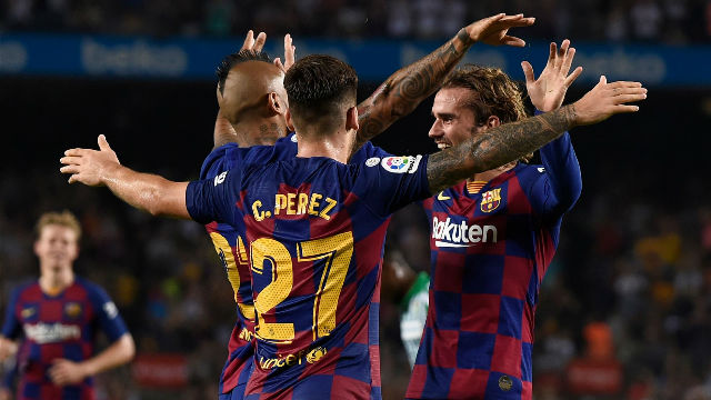 El 1x1 del Barça ante el Betis