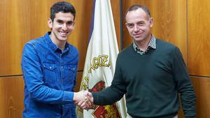 Alfaro, nuevo jugador del Zaragoza