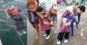 Aparece viva y flotando en el agua tras 2 años desaparecida