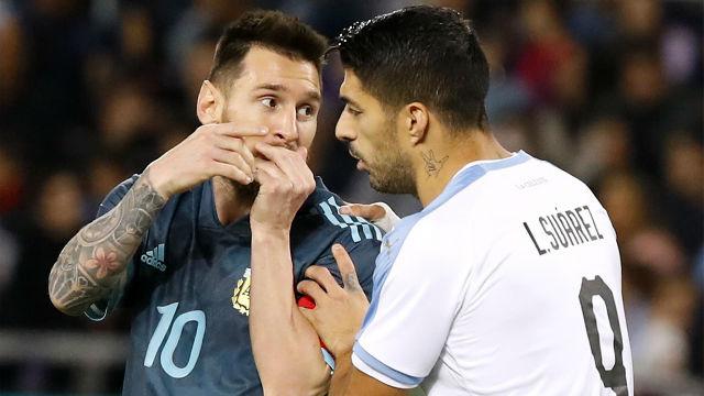 Argentina y Uruguay empataron en el Clásico del Río de la Plata