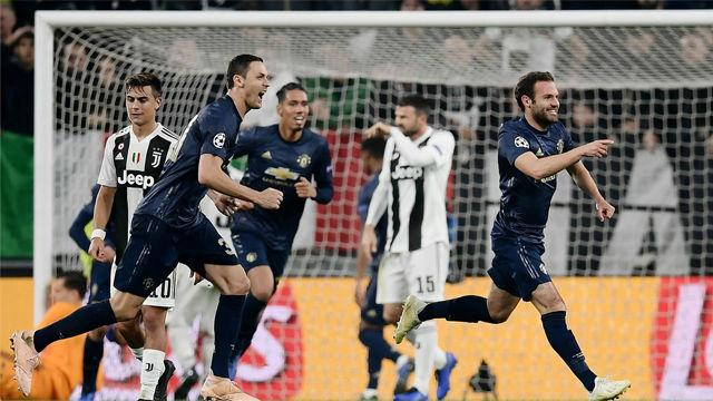 Así fue la épica remontada del Manchester United en Turín